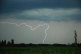 Lightning near Lanigan, SK