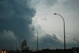 Shrinking meso of the Moose Jaw supercell