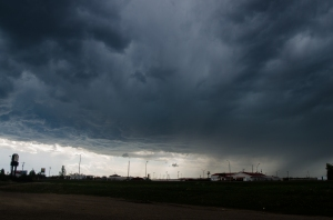 First severe warned cell from Ponoka