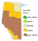 Fall 2015 precip