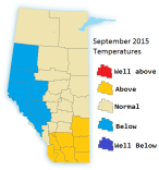Sept 2015 Temperatures